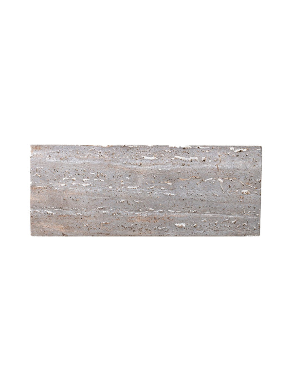 Travertine Marble Serving Tray / 15""