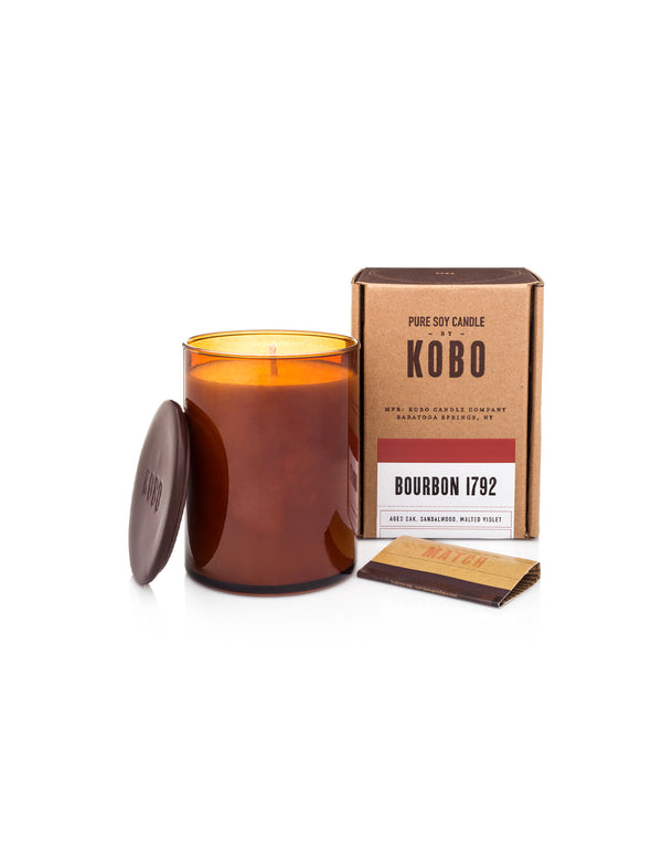 KOBO CANDLE, Bourbon 1792