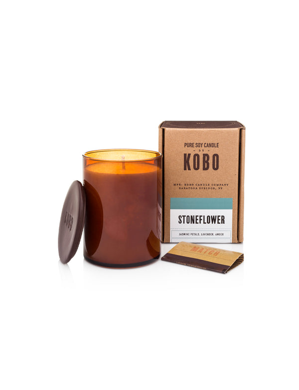 KOBO CANDLE, Stoneflower