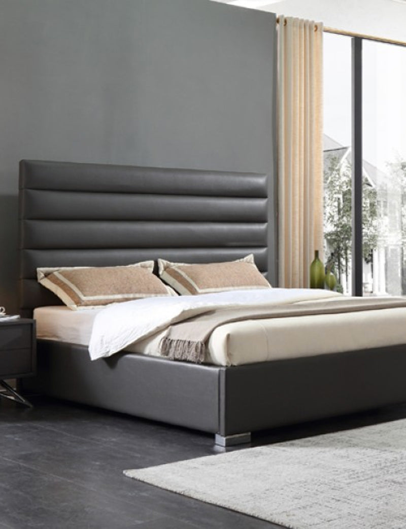 Libra Leatherette Bed