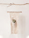 Cotton/Macrame Wall Hanging w/ Pocket