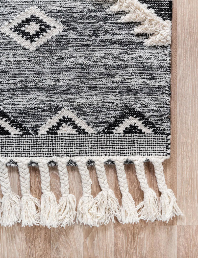 Mesa Rectangle Rug, Charcoal