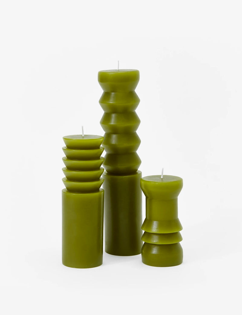 Totem Candles, Moss