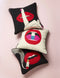 LIPS FULL DOSE NEEDLEPOINT PILLOW