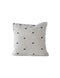 Square Cotton Tufted Dot Pillow / 24""