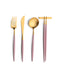 Goa Flatware Pink/Gold