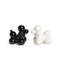 POODLE SALT & PEPPER SET