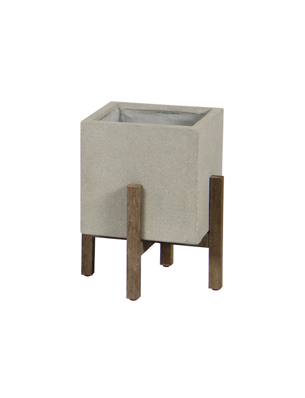 SQUARE STANDING POT