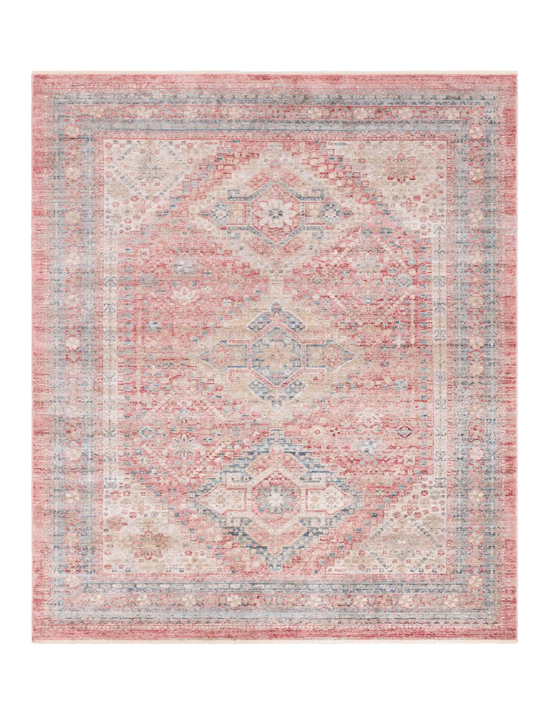 Noble Rectangle Rug, Rust Red