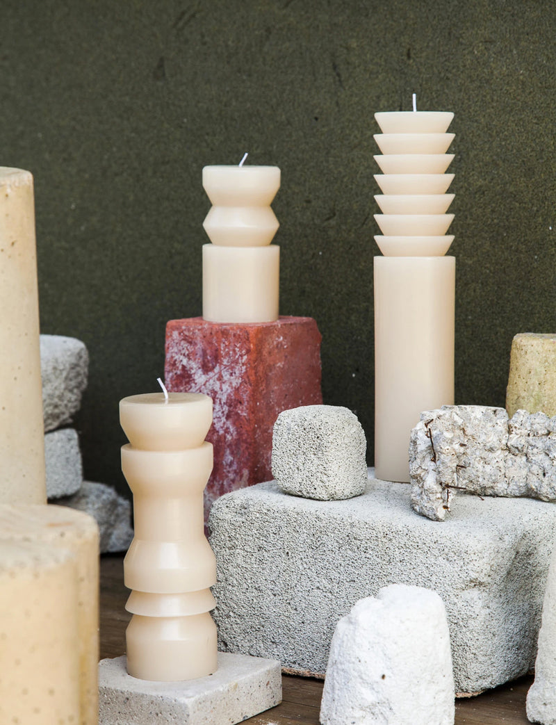 Totem Candles, Sand