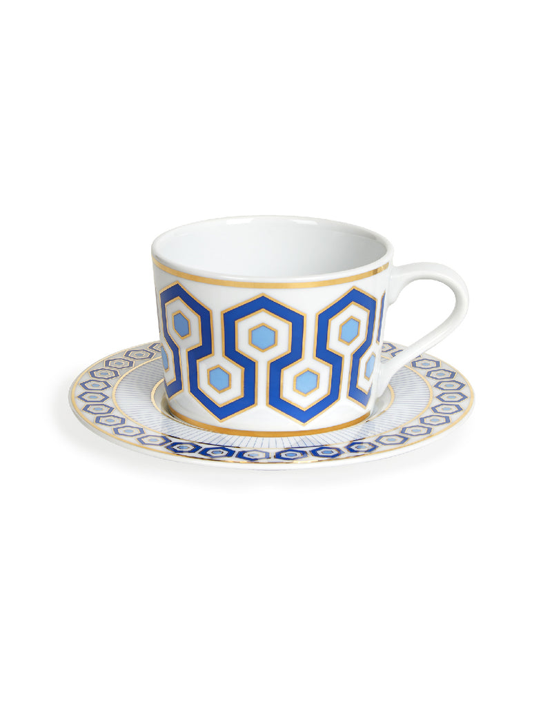 NEWPORT TEA CUP AND SAUCER