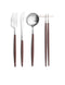 Goa Flatware Brown/Silver