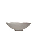 Stoneware Bowl, Matte Grey