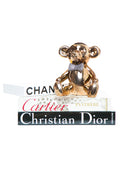 Bronze Bear with Rhinestone Bow Tie Bank