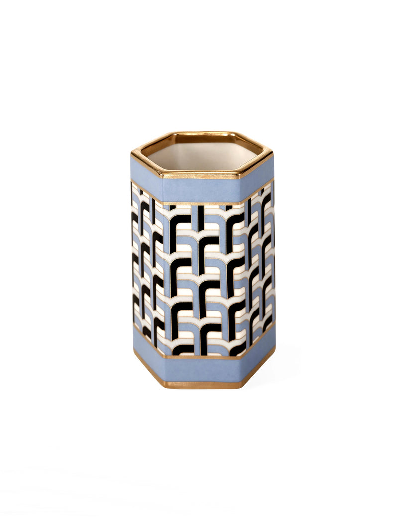 Aperitivo Tumbler with Gold Accent
