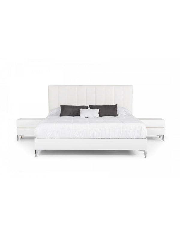 Agora Leather Bed