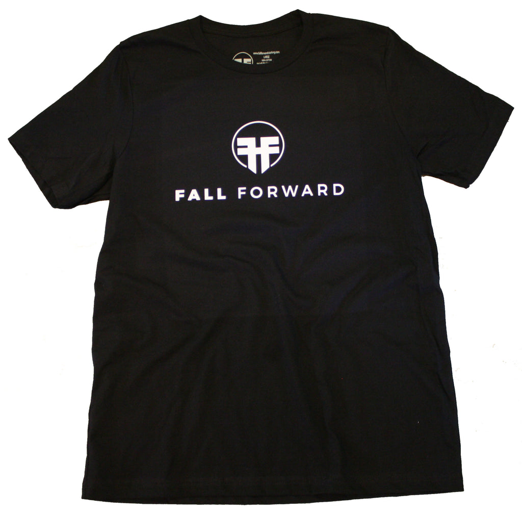 fall forward clothing black tee planet fitness anytime fitness gym lifter weightlifting power lifter