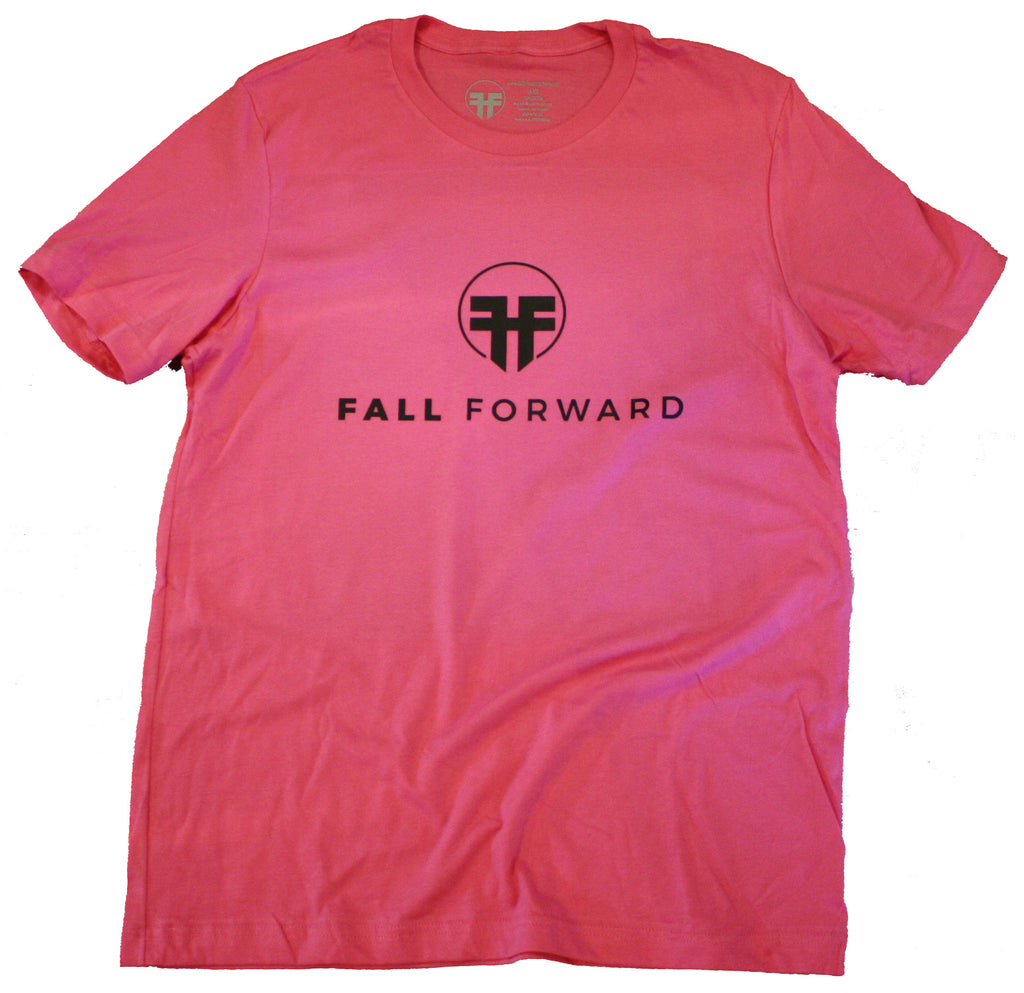 fall forward clothing tees gym lifter weightlifting planet fitness pink
