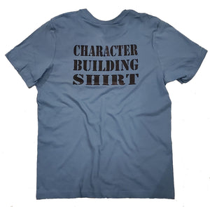 character building tshirt weightlifting tees planet fitness anytime fitness