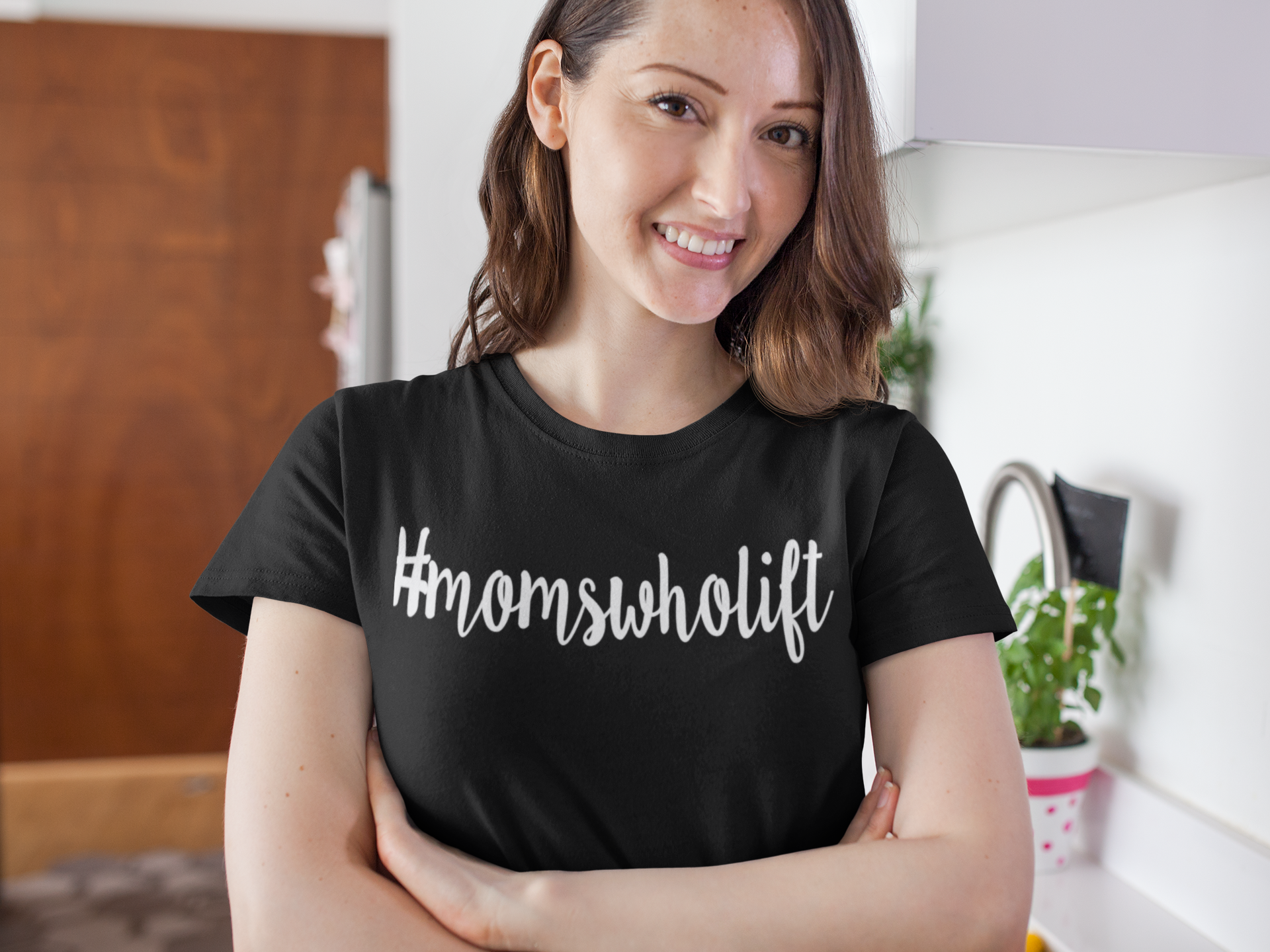 Moms Who Lift Tee