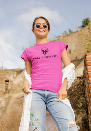 Fall Forward Basic Tee