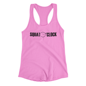 Squat O'Clock Racer Tank