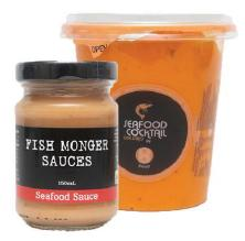 Seafood sauce by fish monger sauces  front