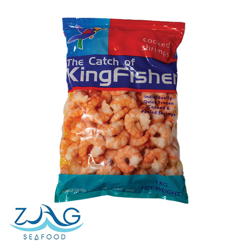Thailand Cooked & Peeled Shrimp by Kingfisher