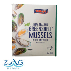 New Zealand Greenshell Mussels by Talley's