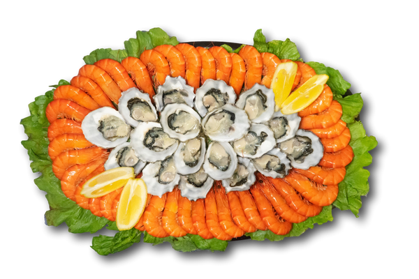Oyster and Prawn Platter