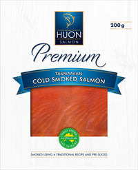 Huon Tasmanian Cold Smoked Salmon 200 grams