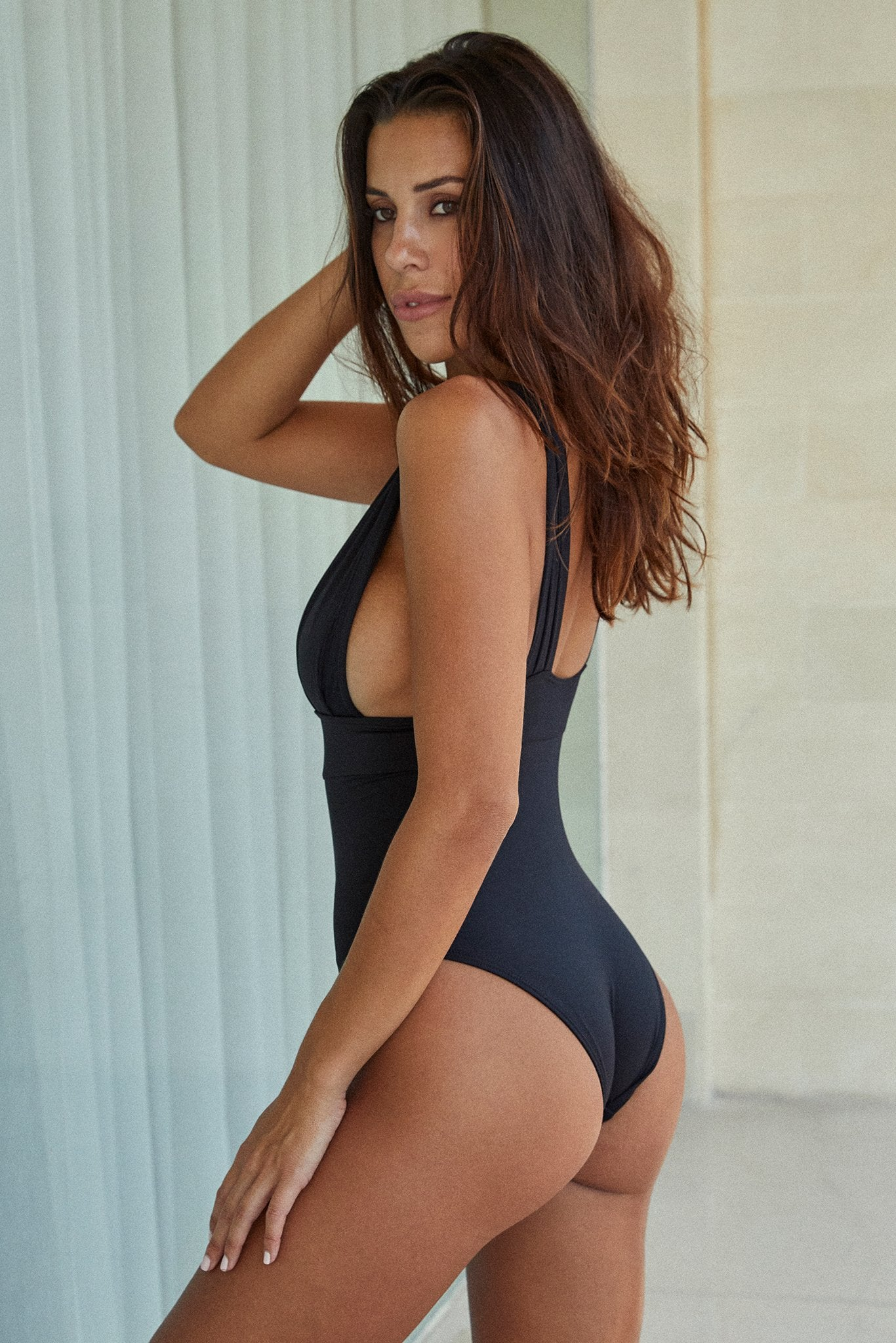 Load image into Gallery viewer, Aruba One Piece - Black