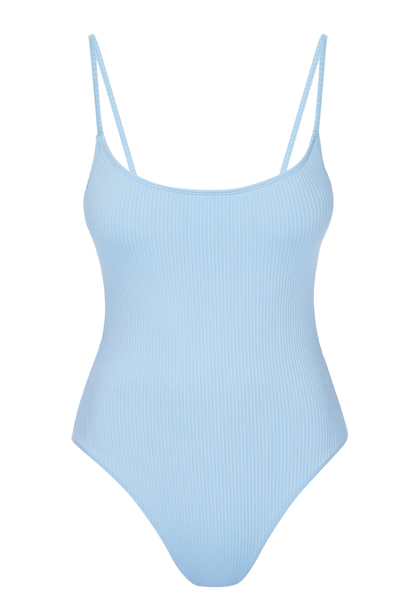 Load image into Gallery viewer, Bahamas One Piece Long Body - Sky Blue Rib