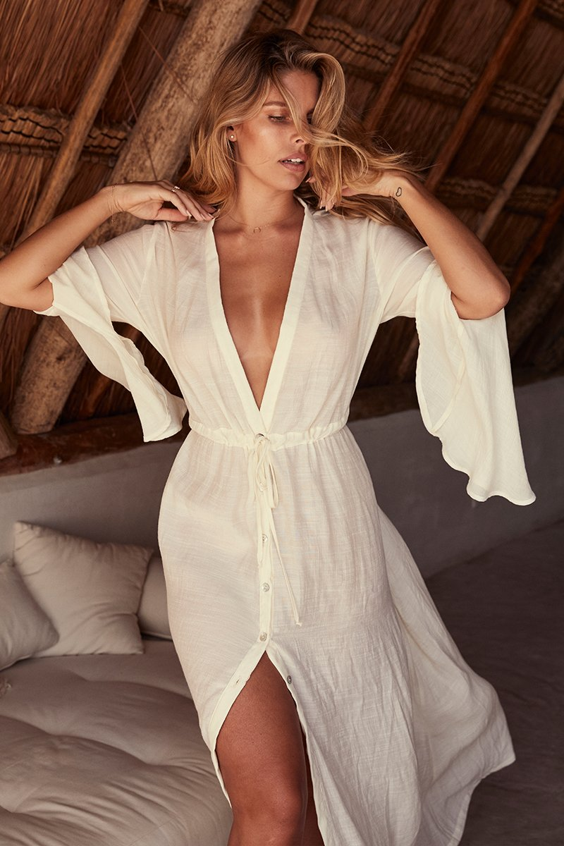Belize Dress - Ivory