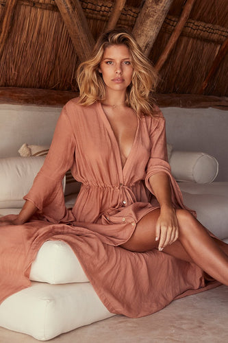 Belize Dress - Nude