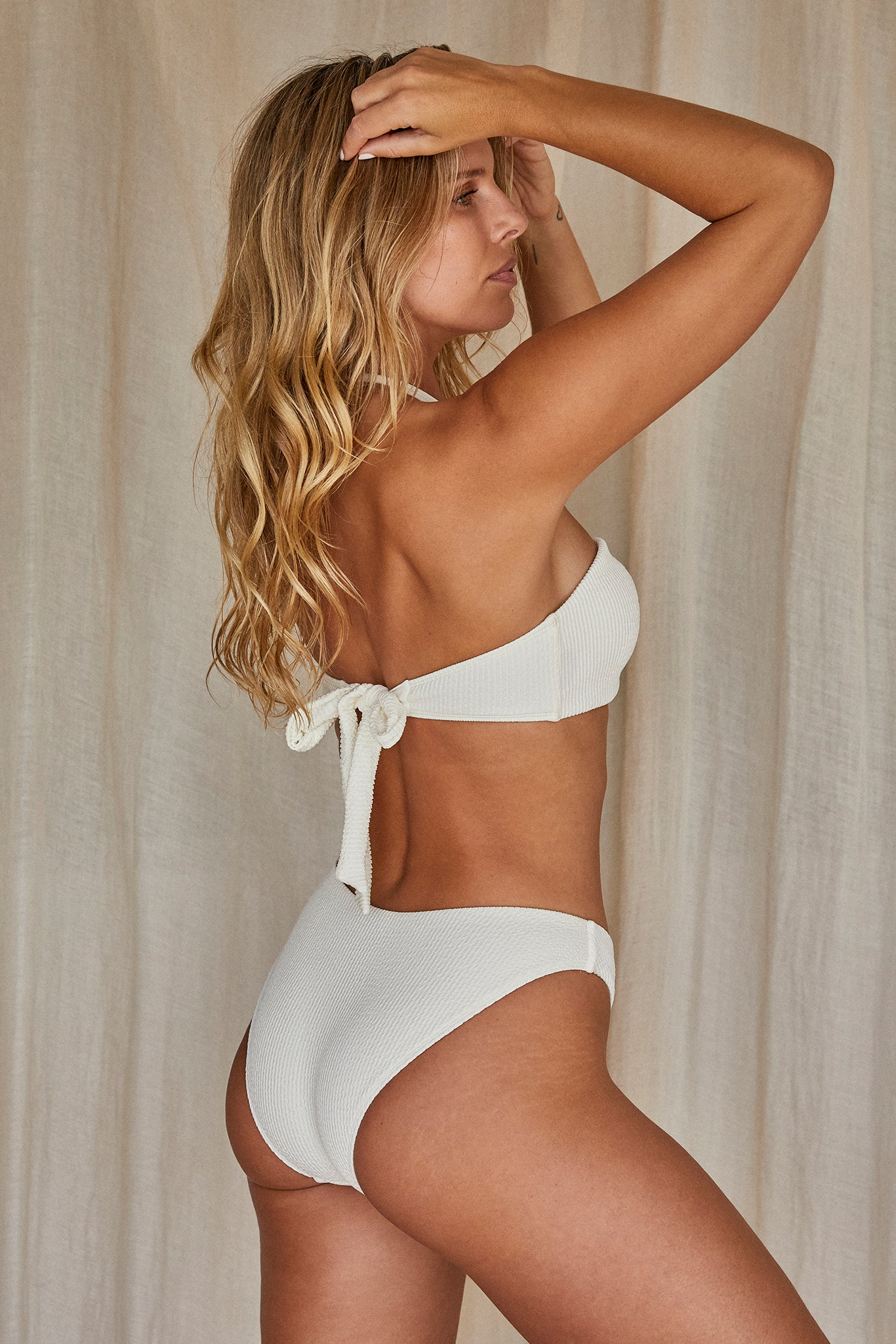 Load image into Gallery viewer, Copacabana Top - Ivory Crinkle