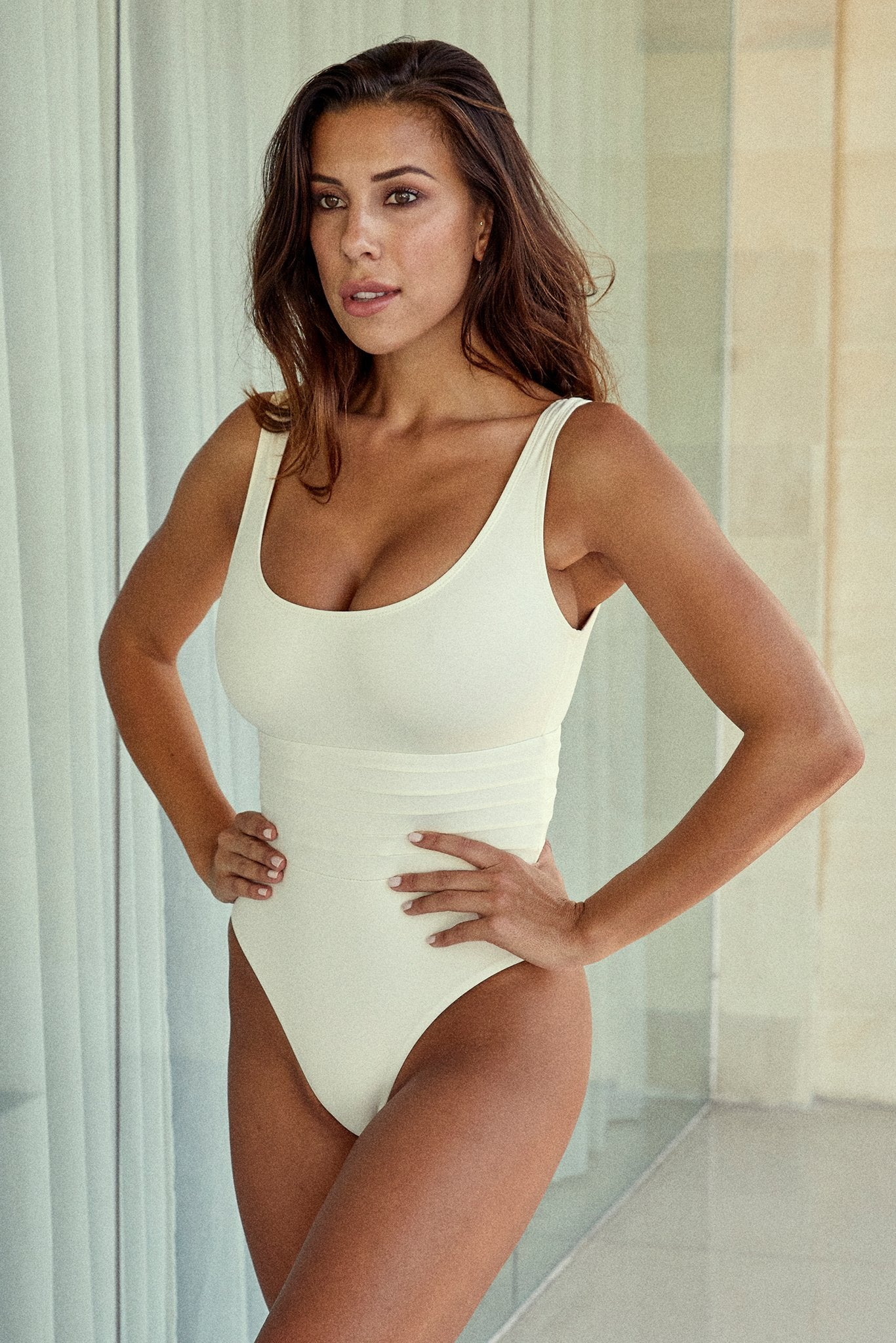 Load image into Gallery viewer, Corsica One Piece - Ivory