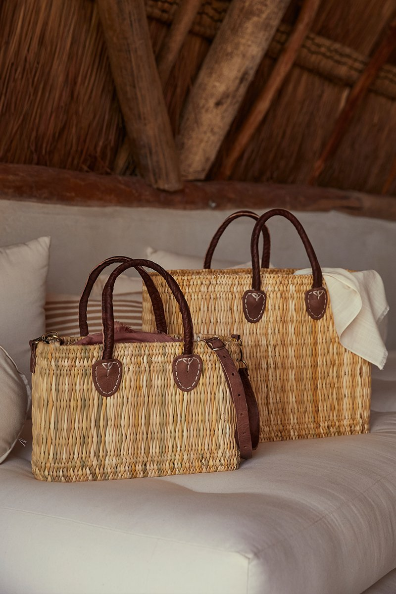 Lake Como Mini Woven Bag