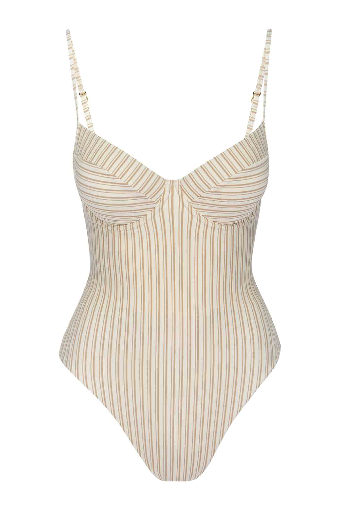 Load image into Gallery viewer, Maui One Piece - Sand Stripe