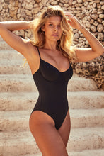 Load image into Gallery viewer, Maui One Piece - Black