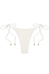 Palma Bottom - Ivory Crinkle