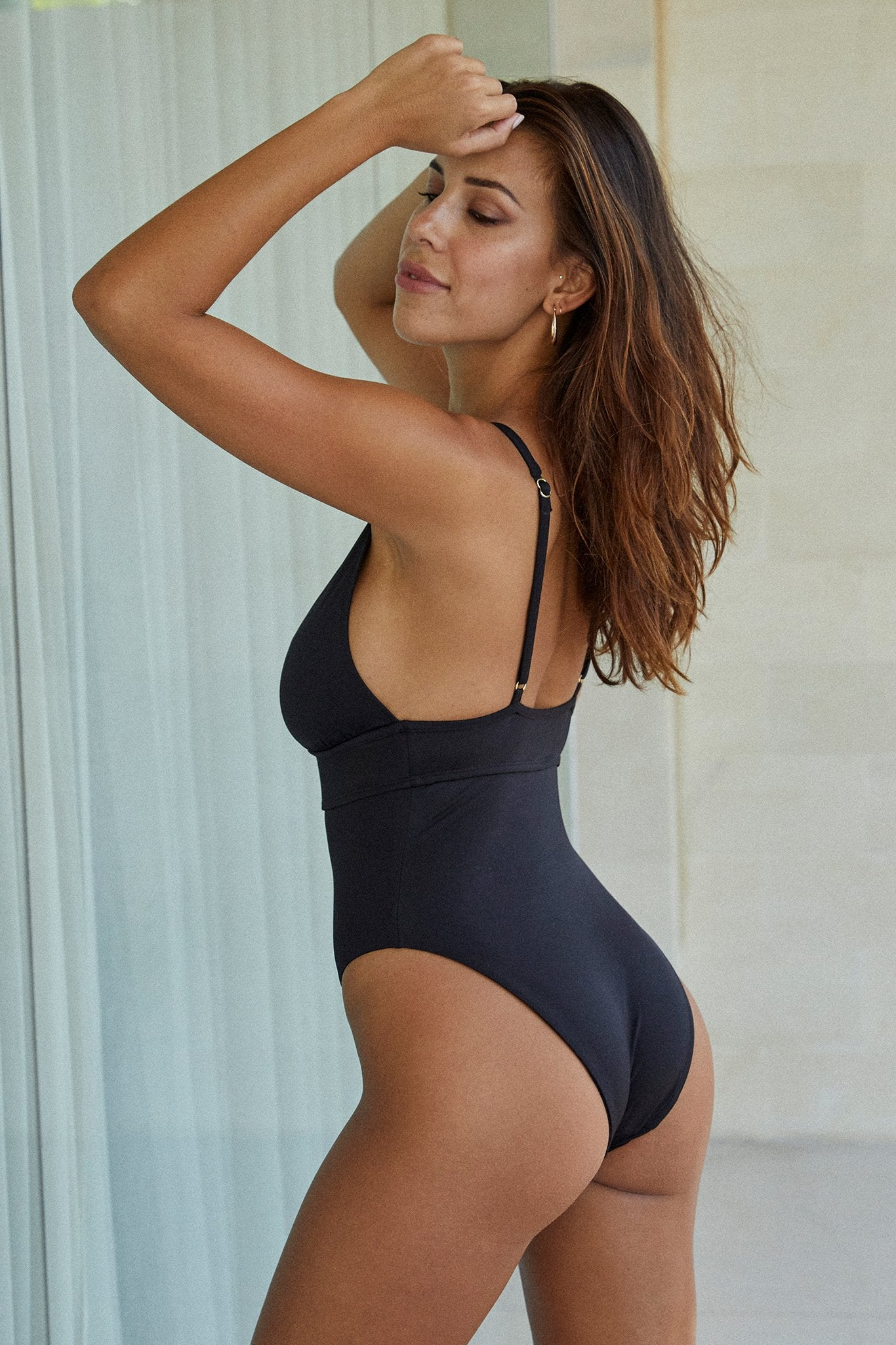 Load image into Gallery viewer, Portofino One Piece - Black