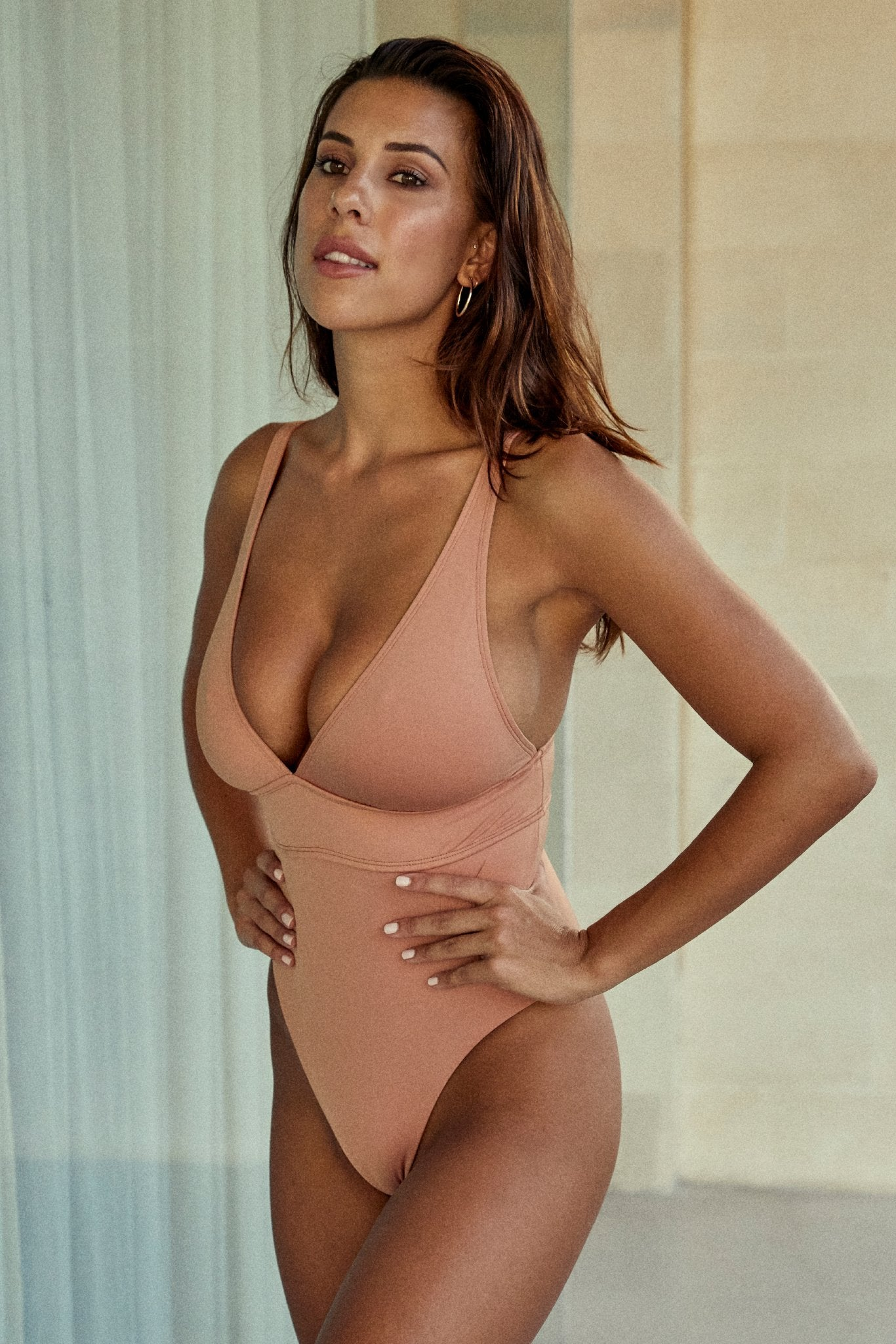 Portofino One Piece - Sand