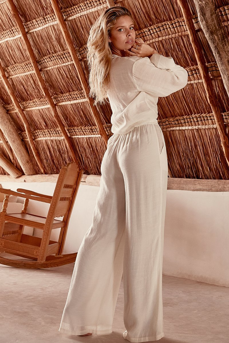 Load image into Gallery viewer, Tahiti Pant - Ivory