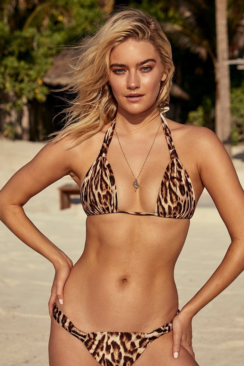 Tulum Top - Leopard