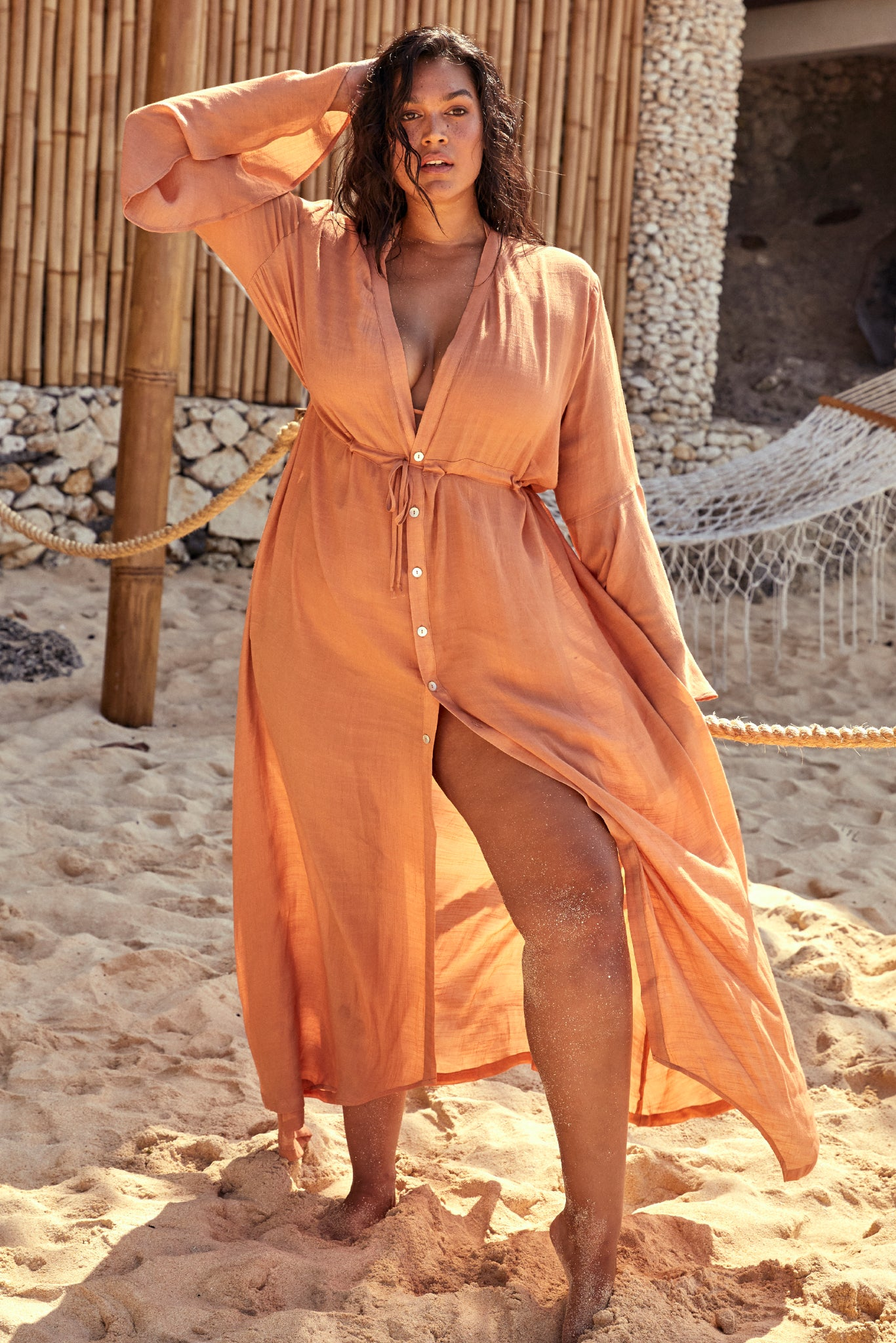 Load image into Gallery viewer, Belize Dress - Sand