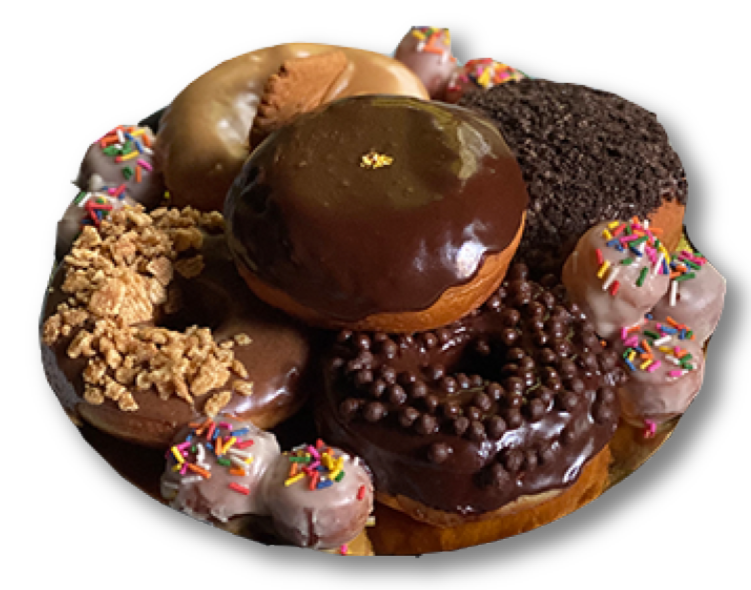 ASSORTED DONUT CAKE