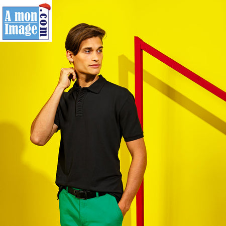 Le Polo Stretch Homme - AQ004