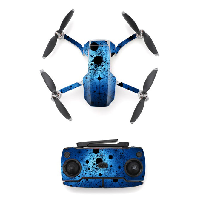 Geometric Patterns Style Skin Sticker for DJI Mavic Mini Drone And Remote Controller Decal Vinyl Skins Cover M0075