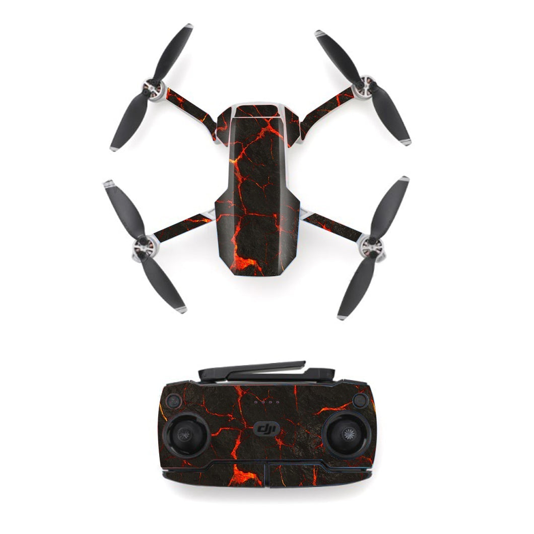 Colorful Line Style Skin Sticker for DJI Mavic Mini Drone And Remote Controller Decal Vinyl Skins Cover M0098